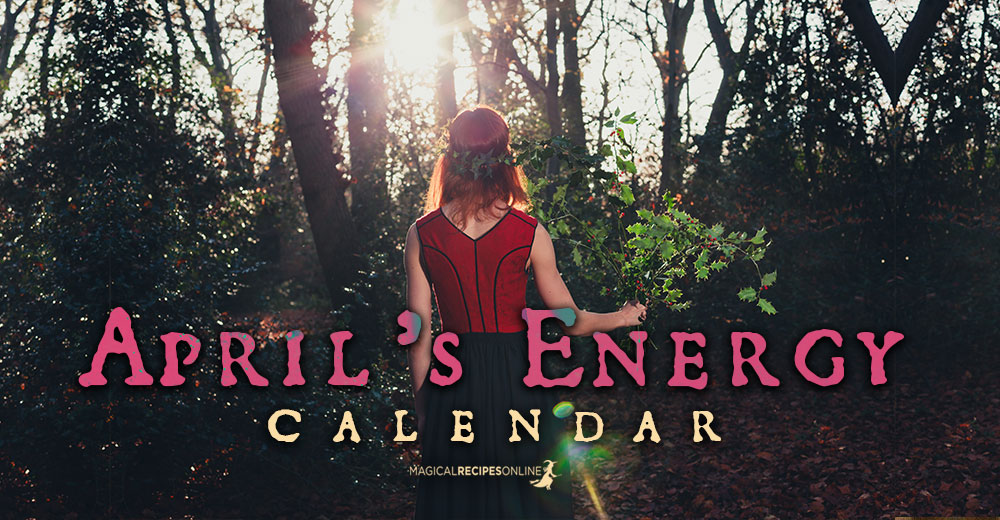 April Energy Calendar (2020)