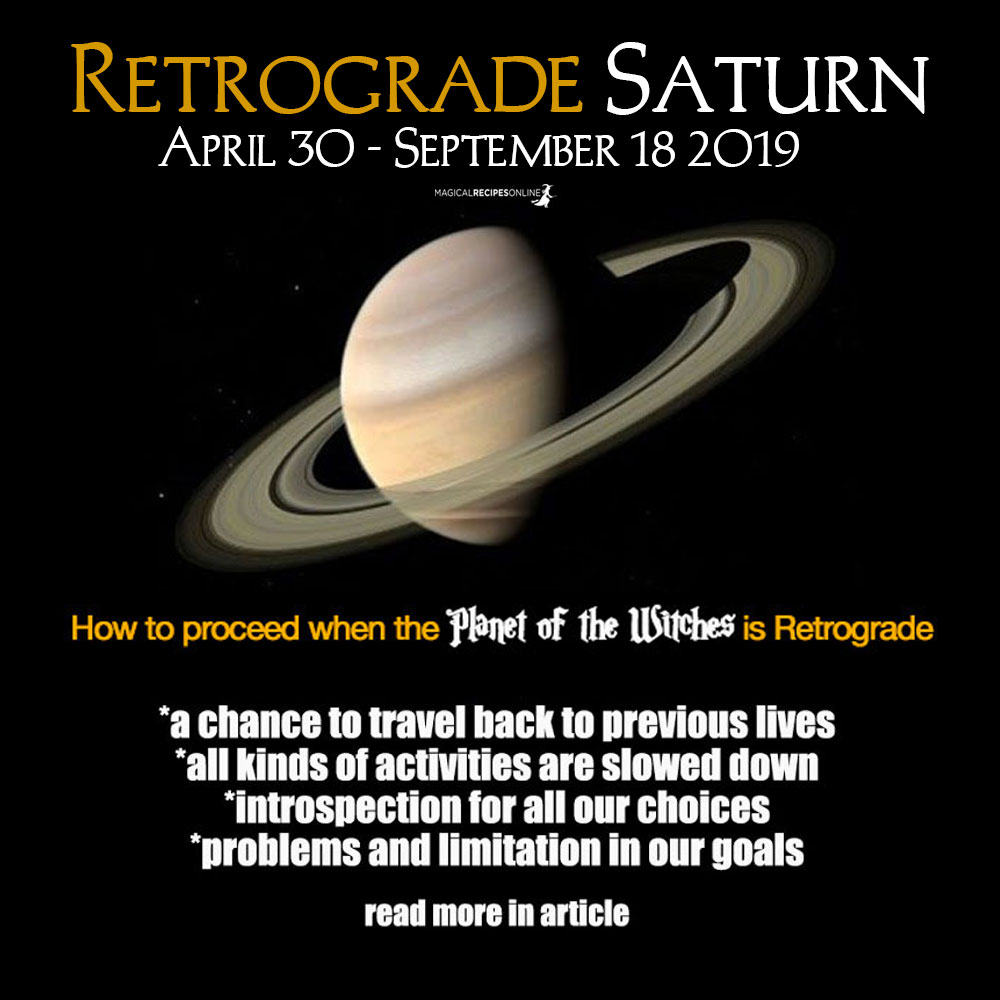 Retrograde Saturn 2019 - How will this Affect You?