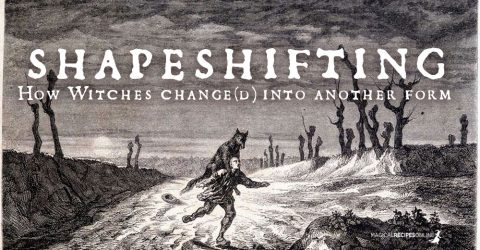 Shapeshifting. How Witches Change(d) into another Form