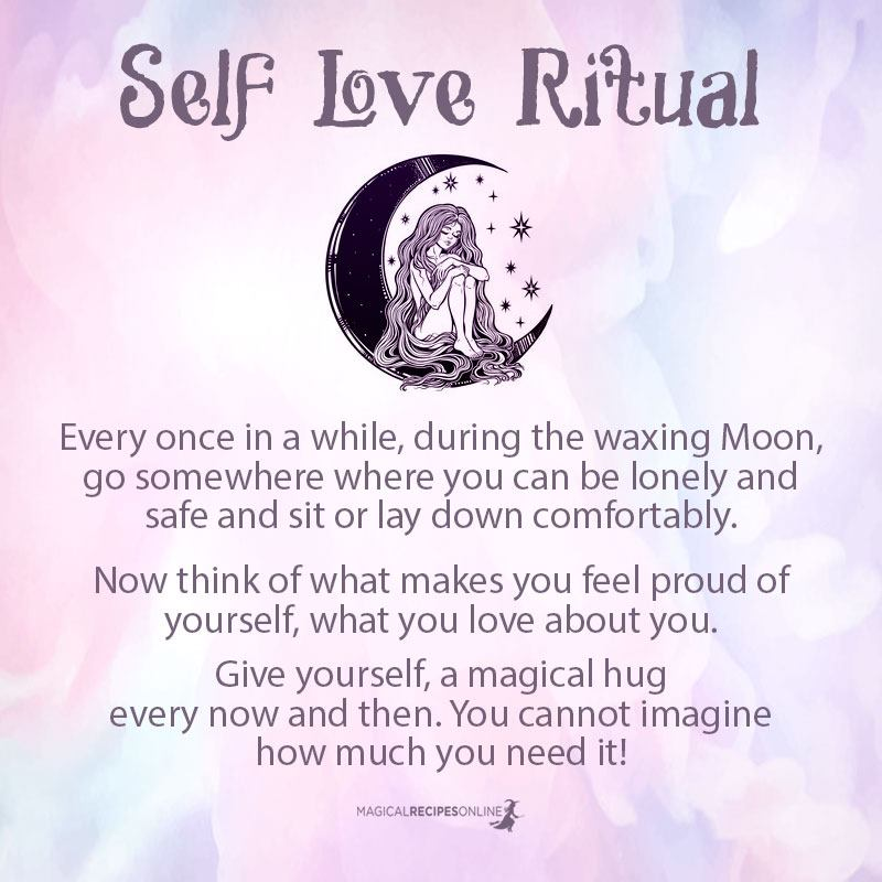 Self Love ritual - Magical Kiss