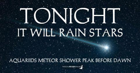 Tonight, it Will Rain Stars! Aquariids Meteor Shower, 2019