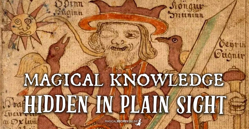 Magical Knowledge Hidden in Plain Sight