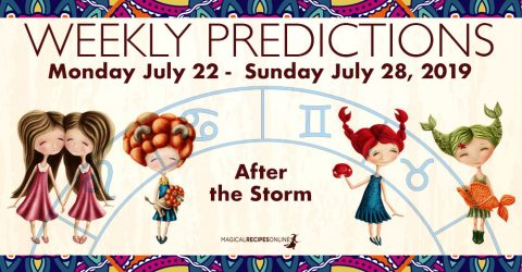 Predictions for the New Week, July 22 - July 28, 2019