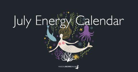 July Energy Calendar