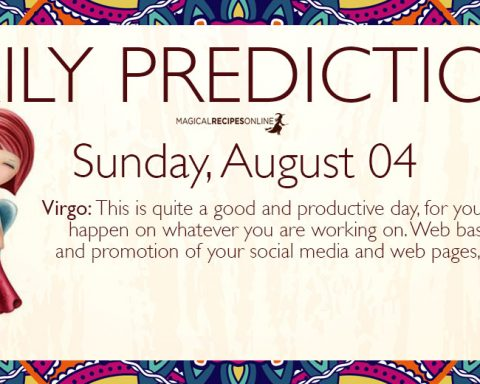 Daily Predictions for Monday 29 July 2019 - Magical Recipes Online