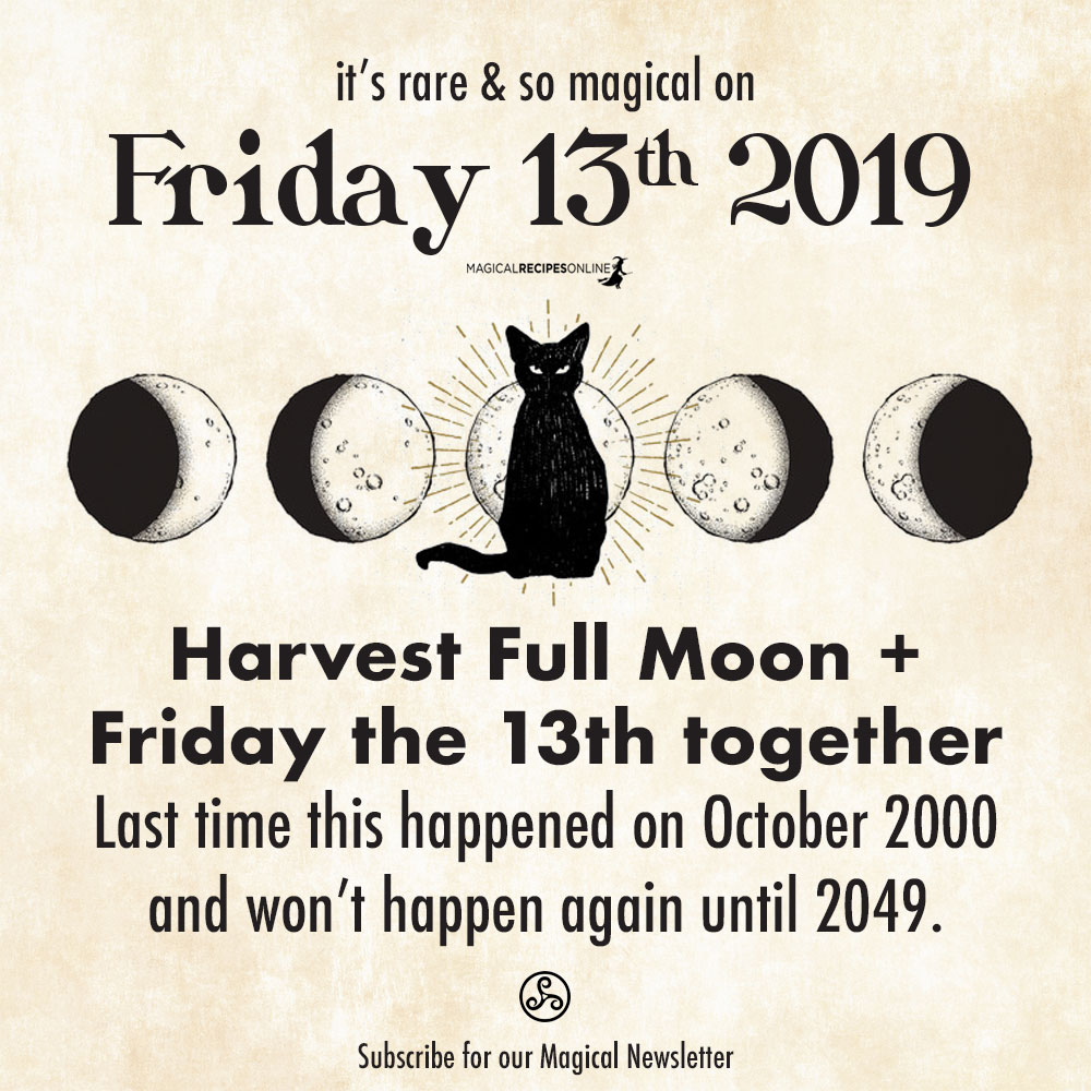 harvest full moon friday 13th