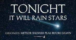 Orionids Meteor Shower 2020