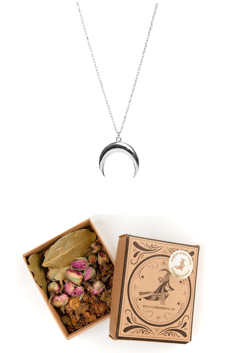 silver moon talisman