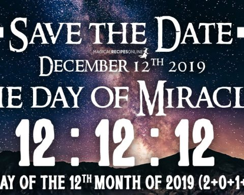 Save the Date: December 12th 2019, the day of Miracles
