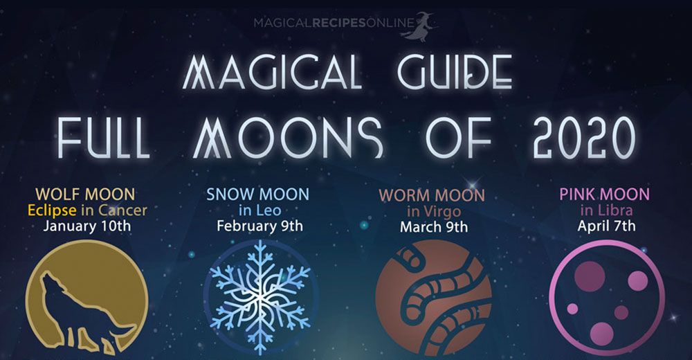 Magical Guide to Full Moons of 2020