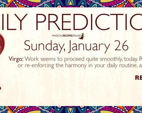Daily Predictions for Sunday 26 January 2020