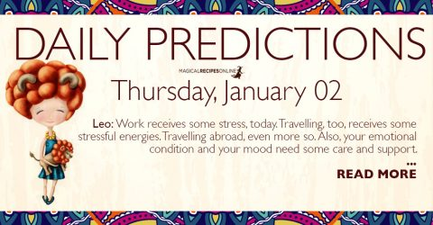 Daily Predictions for Friday 2 January 2020