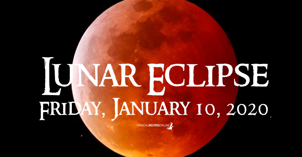 Full Moon and Lunar Eclipse in Cancer – 10 January 2020