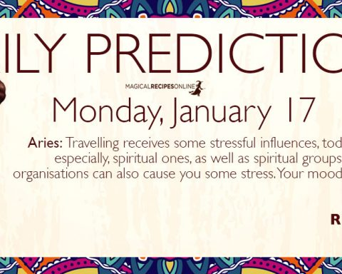 Daily Predictions for Monday 17 February 2020