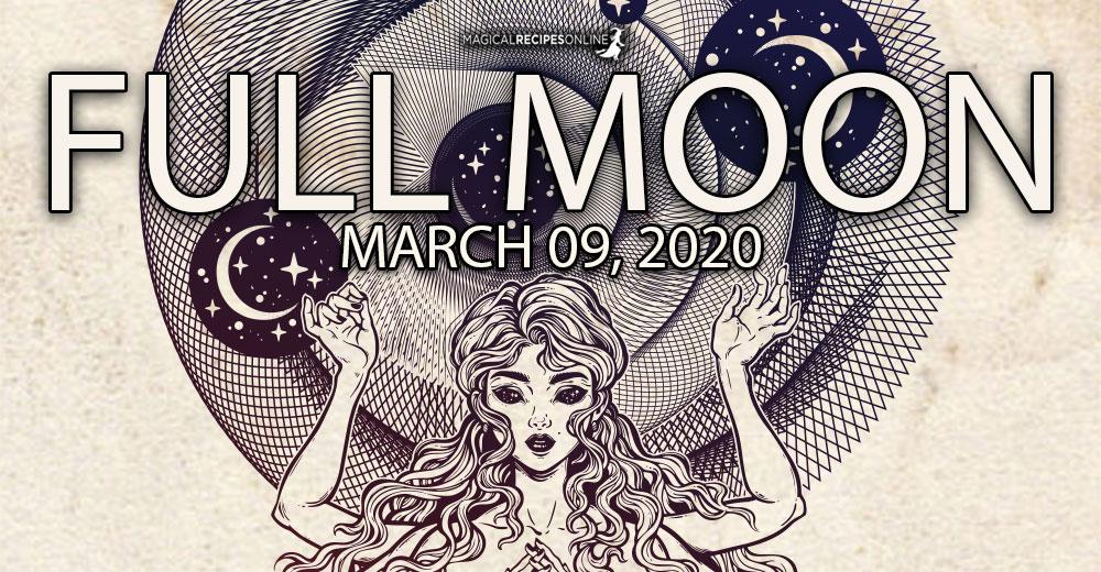 Full Moon in Virgo – 09 March 2020