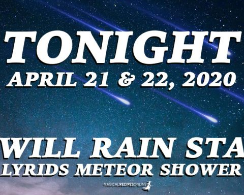 Tonight, it Will Rain Stars! Lyrids Meteor Shower, April 21-22, 2020