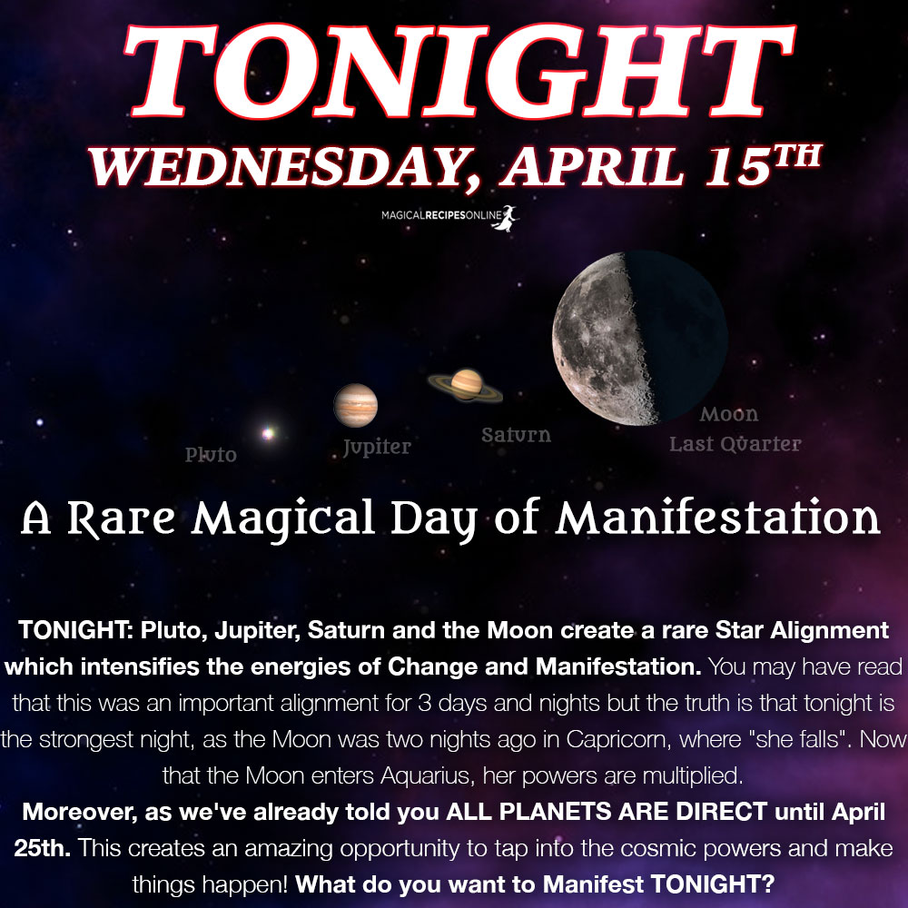manifestation day rare planetary alignment