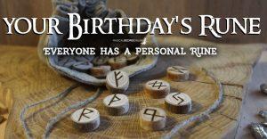 Your Birthday's Rune