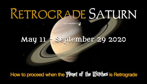 Retrograde Saturn 2020 - How will this Affect You?