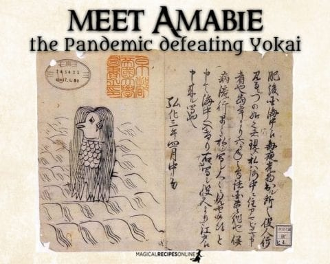 Meet Amabie - the Pandemic defeating Yokai (Spirit)