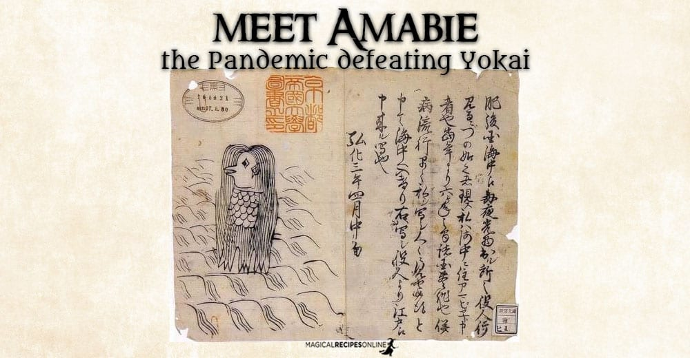 Meet Amabie - the Pandemic defeating Yokai (Spirit)