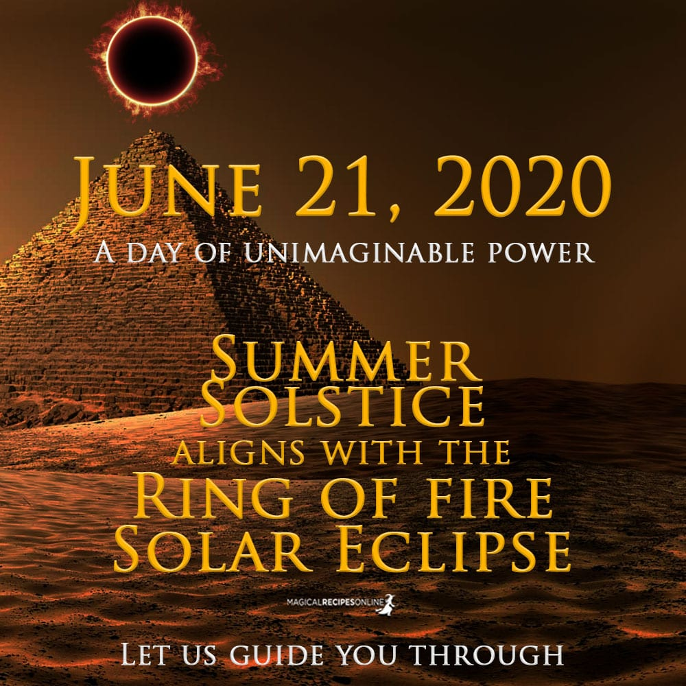 June 21 Solar Eclipse - Summer Solstice