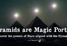 Pyramids are Magic Portals
