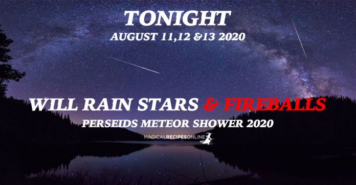 Perseid Meteor Shower 2020 - Tonight It Will Rain Stars & Fireballs!