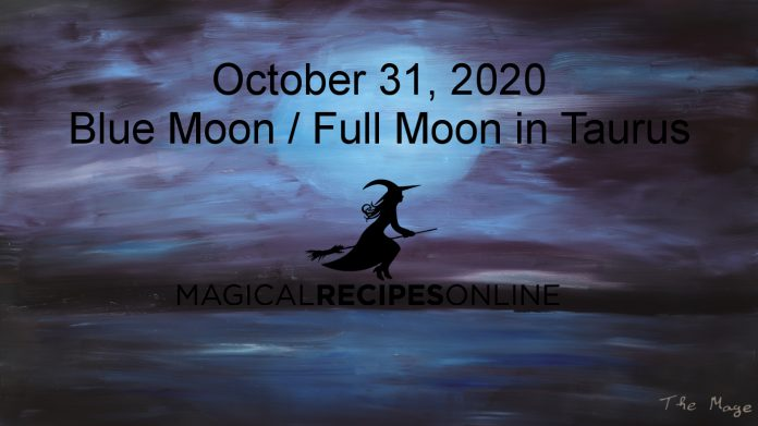 Blue Moon in Taurus