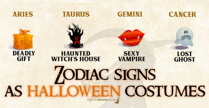 Zodiac Signs as Halloween Costume