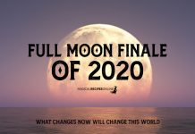 Full Moon Finale of 2020 - December 30, 2020