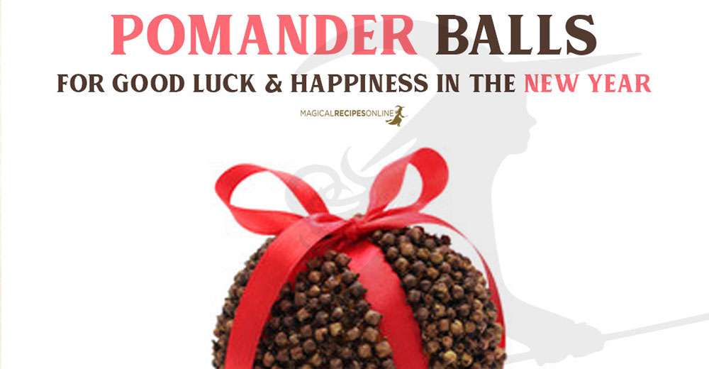 Magical Pomander Balls for a Blessed Solstice and New Year