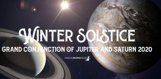 Winter Solstice – Grand Conjunction of Jupiter and Saturn 2020