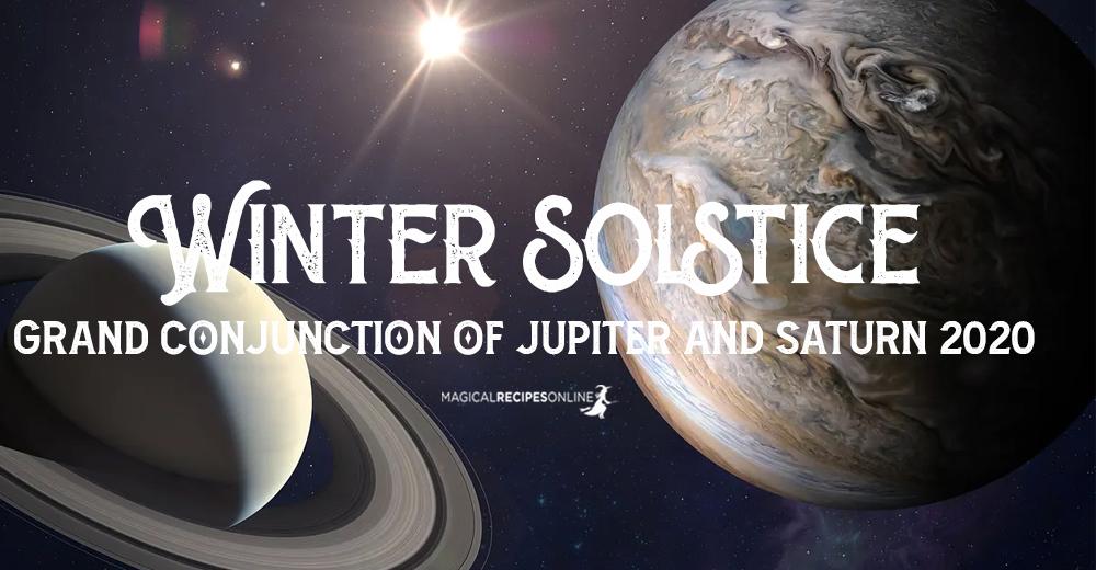 Winter Solstice – Grand Conjunction of Jupiter and Saturn 2020