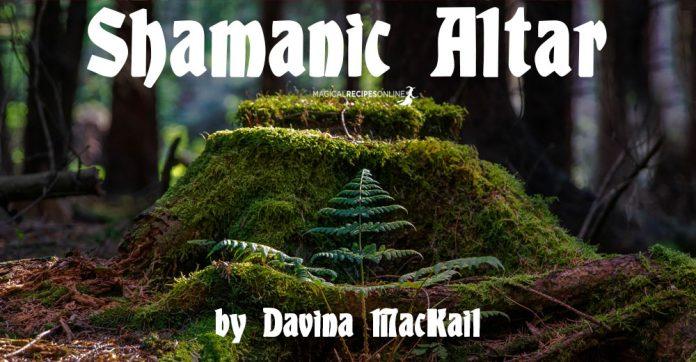 Shamanic Altar by Davina Mackail