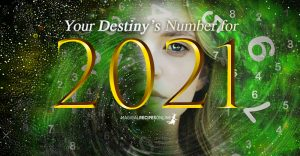 Numerology for 2021: a Year of Material Change