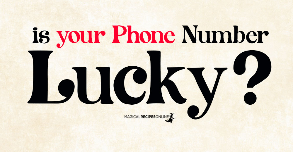 Is your Phone Number Lucky?