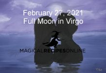 Full Moon in Virgo