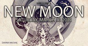 Divine Pisces New Moon, Saturday 13th 2021