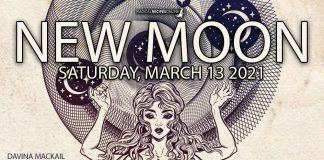Divine Pisces New Moon, Saturday 13th 2021