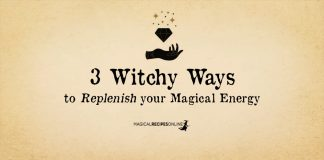 How to Replenish your Magical Energy