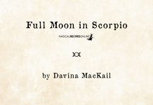 Scorpio Pink Super Moon – Time for a Deep Dive. April 27th 2021 By Davina Mackail