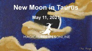 New Moon in Taurus