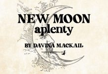 New Moon Aplenty! By Davina Mackail