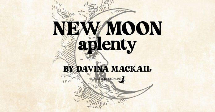 New Moon Aplenty! By Davina Mackail