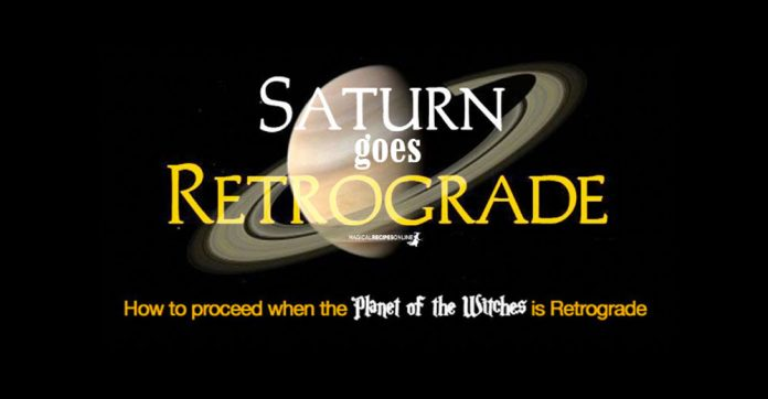 Retrograde Saturn 2021 - Witch's Tips