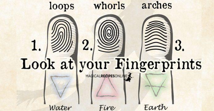 Fingerprints Palmistry