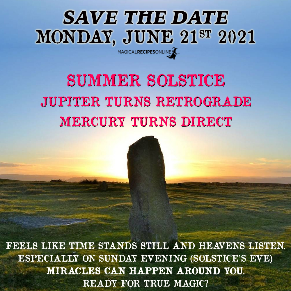 Summer Solstice rituals
