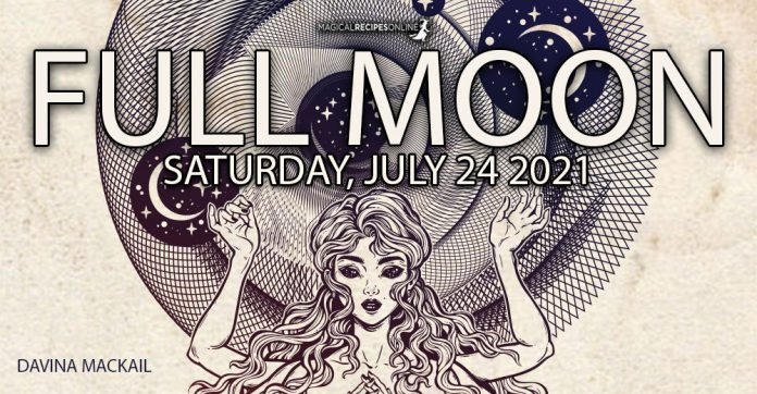 Full Moon in Aquarius July 23/24 – Time to Design the New Paradigm Davina Mackail