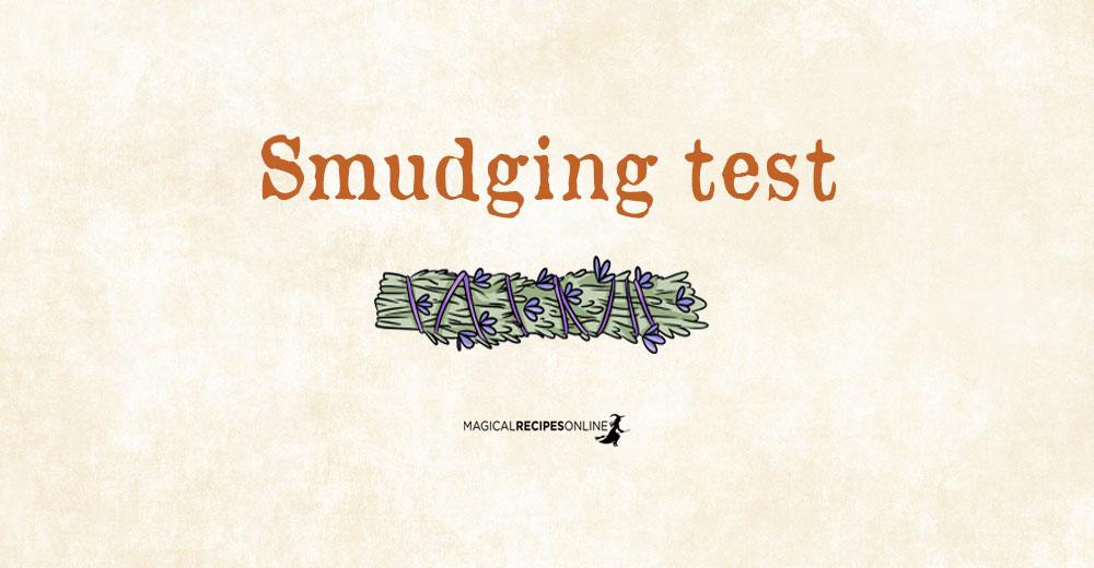 Smudging Test - Choose a Bundle